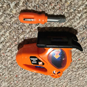 Toy Jigsaw and screwdriver