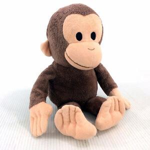 "Curious George Plush Stuffed Animal Monkey 16"" Tall Plushie Doll"