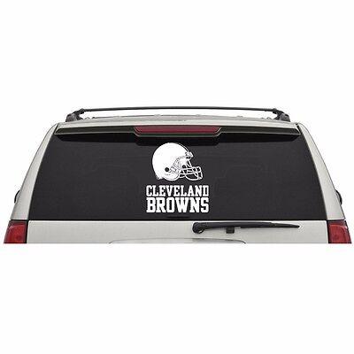 Cleveland Browns Wall Banner (Cleveland Browns Logo Name Wordmark Window Wall Door Car Truck Vinyl Sticker)