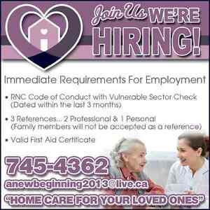 NOW HIRING.... HOME SUPPORT WORKERS!! St. John's Newfoundland image 3