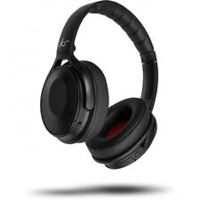 KitSound Immerse Wireless Bluetooth Headphones with Noise Cancelling Black