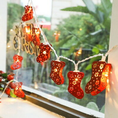 LED String Fairy Light String Christmas Present Stockings Lights Party Decor ()