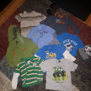 Boys shirts and sweater