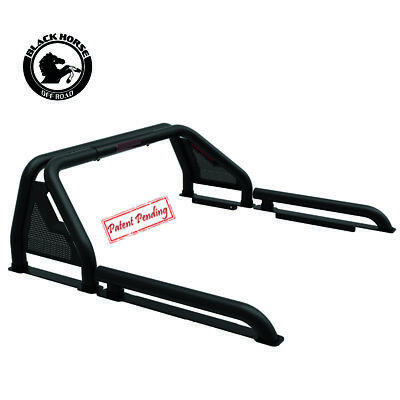 Black Horse Fits 07-20 Toyota Tundra GLADIATOR Roll Bar Bed Cargo Chase Rack