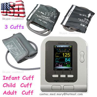 Us Digital Blood Pressure Monitornibpadultchildpediatricswsphygmomanometer