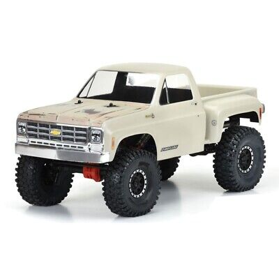 Chevrolet Truck Body - Pro-Line 1978 Chevy K-10 Clear Body for 12.3