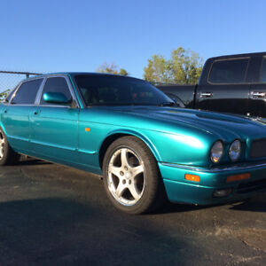 1995 Jaguar XJR plus parts car