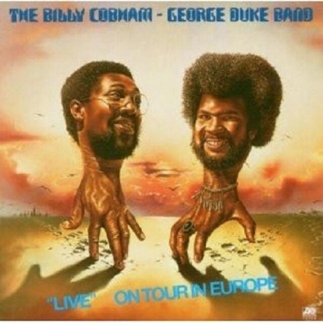 GEORGE&COBHAM,BILLY DUKE-LIVE ON TOUR IN EUROPE CD NEU