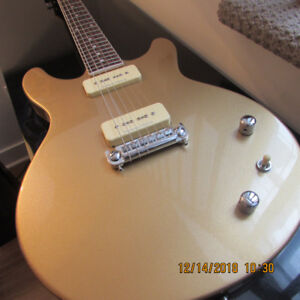 ESP LTD® Hybrid II Gold Flake 2012's Single Coil P90 Pickups