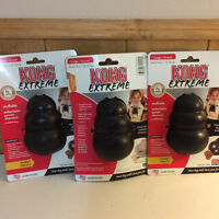 Lot of  3 Large Extreme Kong Toys