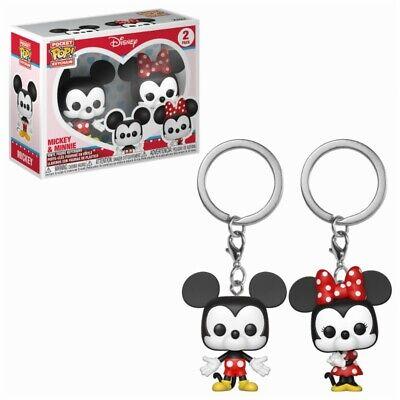 Funko Pop! - Pack Llaveros Mickey & Minnie - Disney - Producto Oficial