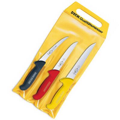 Dick Messer Set Kochmesser Fleischermesser Blockmesser Ausbeinmesser ErgoGrip