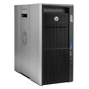 HP Z820 Workstation for Video Edtiing & 3D Graphic