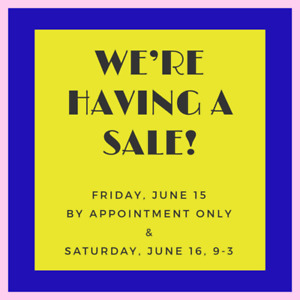 Furniture and Prop Sale