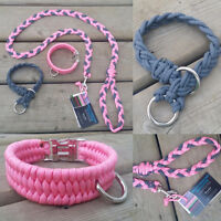 Handmade 550 Paracord Dog Collars/Leashes/Slip Leashes and more!