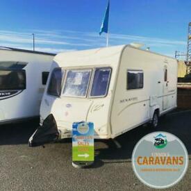 Bailey Senator 2 Berth Caravan - Finance Available - Motor Mover - Immaculate