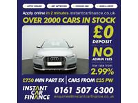 Audi A6 allroad 3.0TDI(218ps)(s/s)allroad S Tronic 2016MY quattro FROM £101 PW