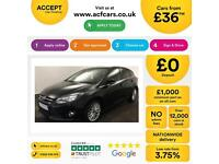 Ford Focus 1.6TDCi ( 115ps ) 1560cc 2013MY Zetec FROM £36 PER WEEK!