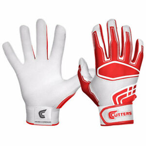 CUTTERS PRIME HERO RED BATTING GLOVES NEW IN PACKAGE!!  Size M
