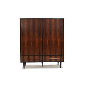 MCM Rosewood Armoire Dresser