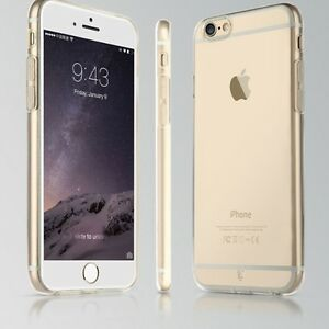 ULTRA THIN CRYSTAL CLEAR CASE COVER SNAP ON FOR iPHONE 5 5S 6 6S