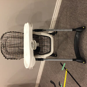 Evenflo high chair with tray