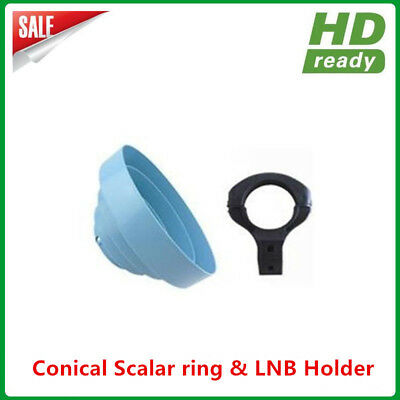 Hot Sales Conical Scalar ring with C Band LNB Holder bracket 65MM diameter for sale  China
