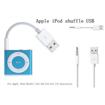 USB Charger Data Sync Transfer Cable Cord For iPod Shuffle 3rd 4th 5th 6th 7 Gen Ipod Transfer Cable
