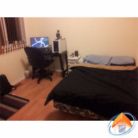 ALL INCLUSIVE- one bedroom in multi level townhouse- December 1