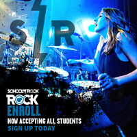 No More Boring Lessons - JOIN School of Rock Today!!