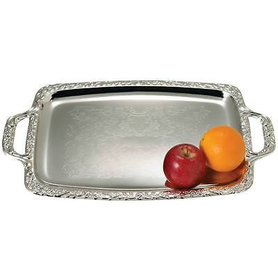 SILVER PARTY SERVING TRAY MIRROR  FINISH NEW