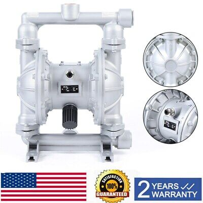 Air-operated Double Diaphragm Pump Qbk-25l Pneumatic 12 Inch Air Inlet 115 Psi