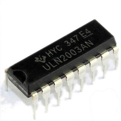 2pcs Uln2003an Uln2003 Dip-16 Ic Darlington Npn Transistor Array