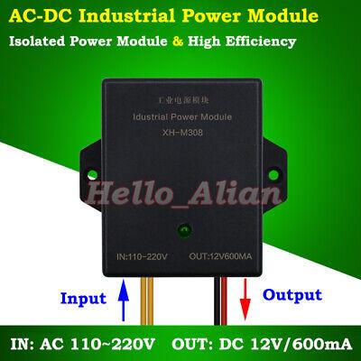 Mini Ac-dc Converter 110v 220v To 12v 0.6a Isolated Switching Power Transformer