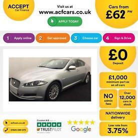 Jaguar XF 2.2TD auto 2012MY Luxury FROM £62 PER WEEK!