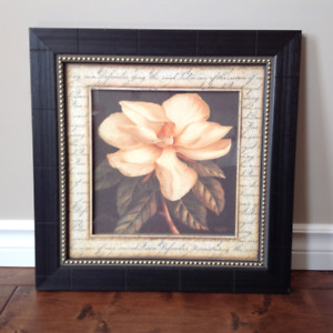 **** NEW PRICE**** LARGE FLORAL PICTURE