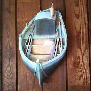 Hanging Boat Original Sculpture NEW PRICE