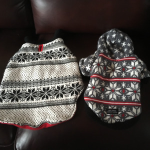 VARIETY OF DOG COATS