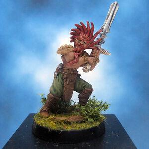 Painted-Ral-Partha-Crucible-Miniature-Thane-Barbarian-Infantry