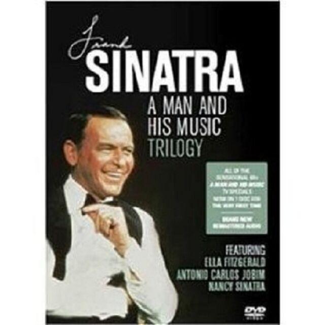 "FRANK SINATRA ""A MAN AND HIS MUSIC TRILOGY"" 3 DVD NEU"