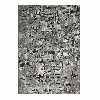 Abacasa Napa Axel Black-Grey-and Ivory 8x11 Area Rug
