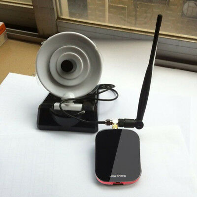 200m Long Range Password Cracking Dual Antenna USB WiFi Receiver Adapter 150Mbps