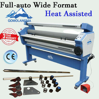 63 Wide Format Cold Laminator Laminating Machine Heat Assisted With Trimmer