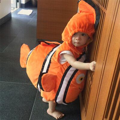 Kinder Clown Fisch Kostüm Baby Mädchen Jungen Nemo - Clown Fisch Baby Kostüm