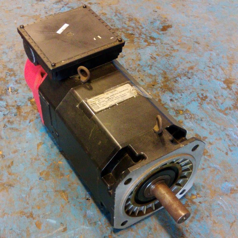 GE FANUC 6S 3PH 200V 1500-6000RPM 5.5/75kW AC SPINDLE MOTOR A06B-0754-B300#3000