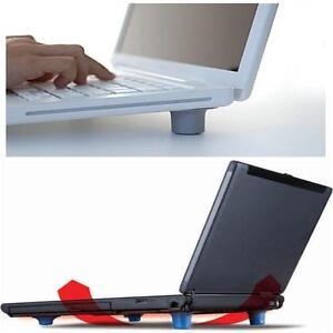 4 x Rubber Cooling Cooler Stand Feet Pads Legs Laptop Notebook Computer Heat YYま