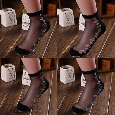 WHOLESALE Women Lace Socks Girl Ankle Socks Summer Fancy Socks Black White Socks