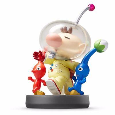 Nintendo Amiibo Pikmin   Olimar Super Smash Bros  3Ds Wii U Game Accessories New
