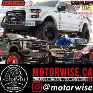 Ford F-150 | F-250 | F-350 | Superduty Performance Parts & Accessories | Browse, Shop & Order Online at www.motorwise.ca