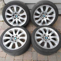 "BMW 17"" Spider Spoke 159 set of 4 FOR SALE"